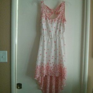 NWOT Candie's High Low Floral Dress Size M